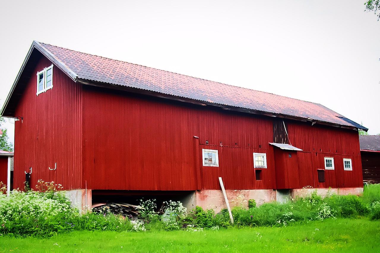 Pentingnya Gudang Bagi Warga Pedesaan Di Swedia Dalarna Ajheris